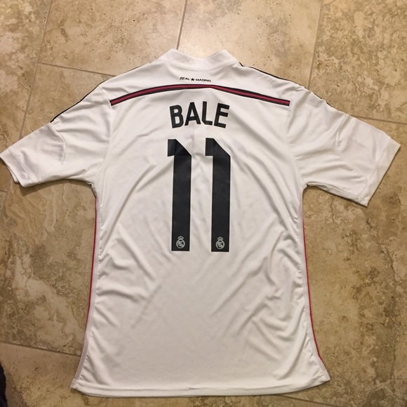 the latest 92fb3 8e093 Gareth Bale Real Madrid Adidas Soccer Jersey